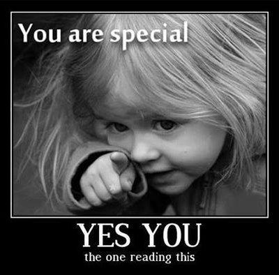You are Special!!